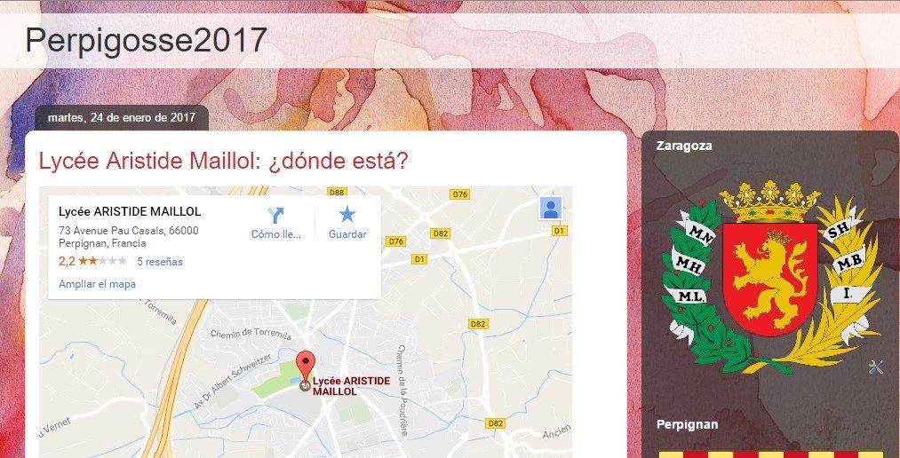 Perpignan Échange Lingüistique 2016-17